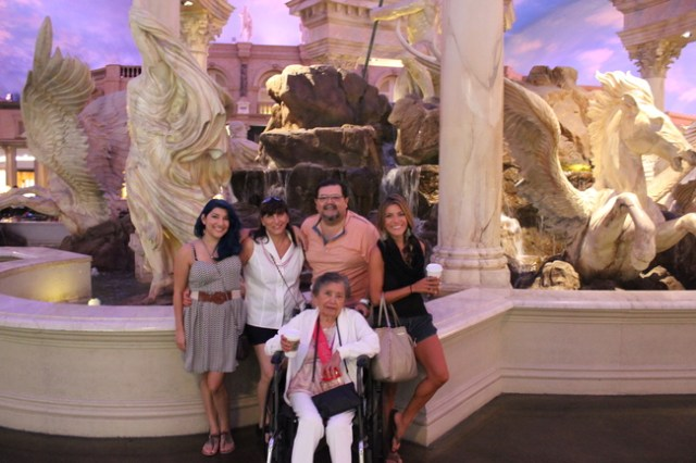 90th Birthday in Vegas