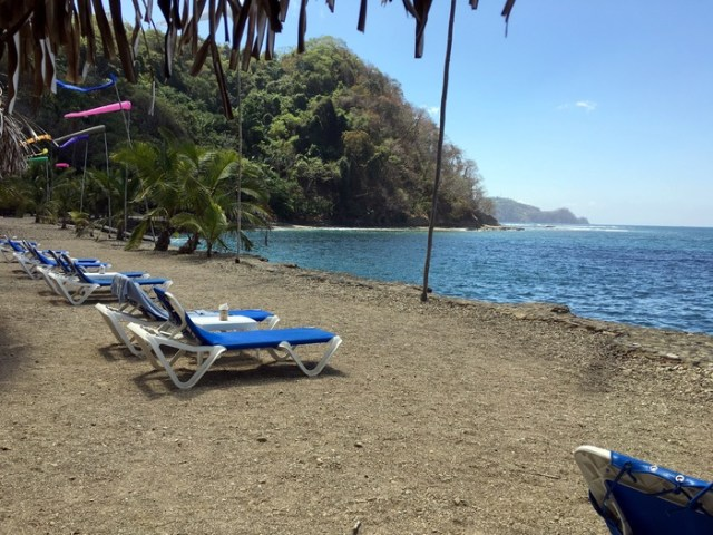 Playa Caletas at Villa Caletas, Costa Rica