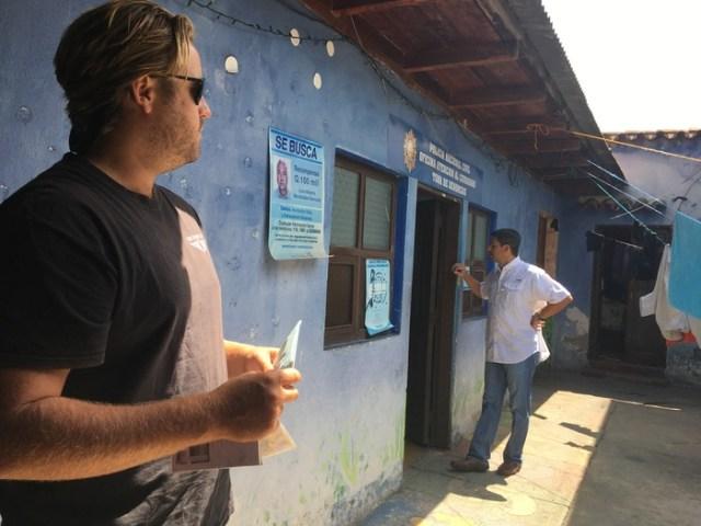 Police Station in Antigua Guatemala