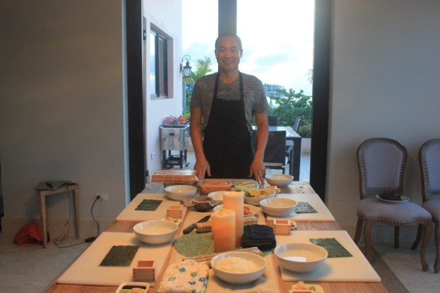 Sushi Making Class in Anguilla