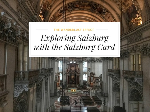 Using the Salzburg Card