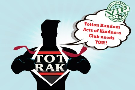 Totton RAK needs you to Spread the Smile