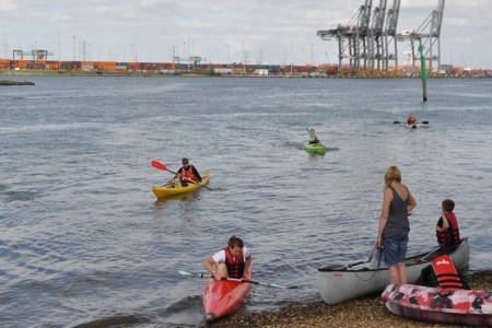Kayaking Club: Paddle to Redbridge