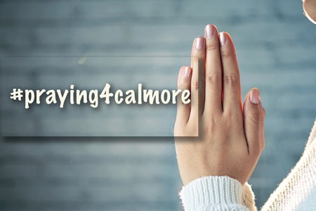 praying4calmore launch
