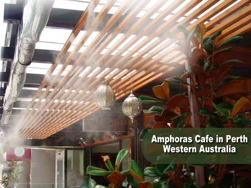 Misting System Winterizing : Outdoor air conditioning flash evaporation what is it