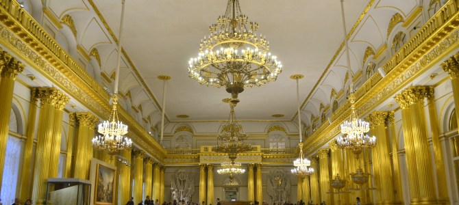 The Opulence of Architecture in Saint Petersburg
