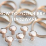 How to Polish Brass Hardware | video tutorial