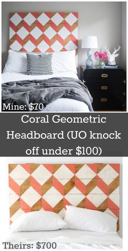 Coral Geo Headboard UO mine theirs