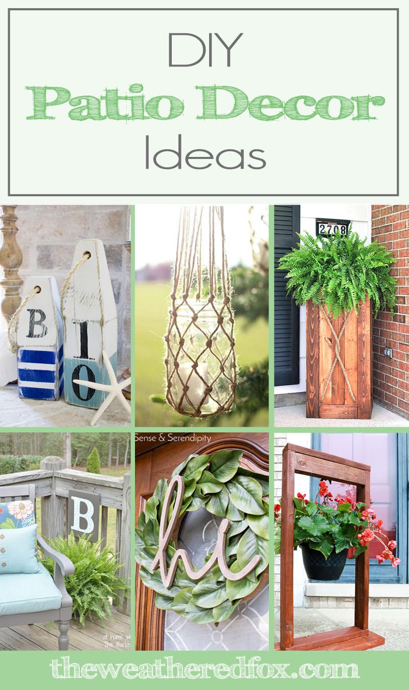 Modren Diy Patio Decorating Ideas Cheyenne From Sense Serendipity And Intended Decor