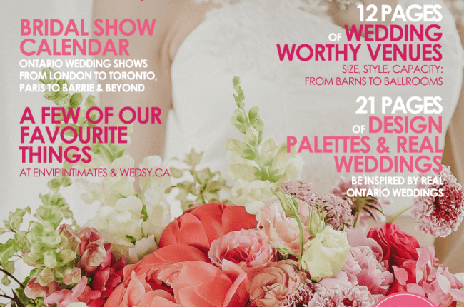 Wedding Worthy Venues Edition | The Wedding Ring Magazine Ontario Fall Winter 2016