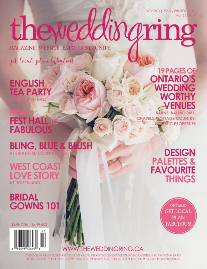The Wedding Ring Magazine Fall Winter 2017 - Cover