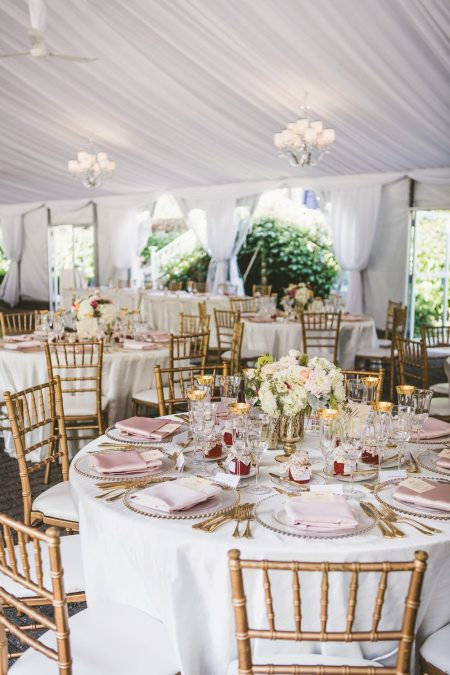 Outdoor Tent Wedding at Miller Lash House