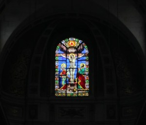 Saint-Louis-en-l'Île Church window