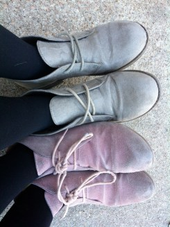 Best Friends - We showed up in the same shoes not even knowing the other had them.