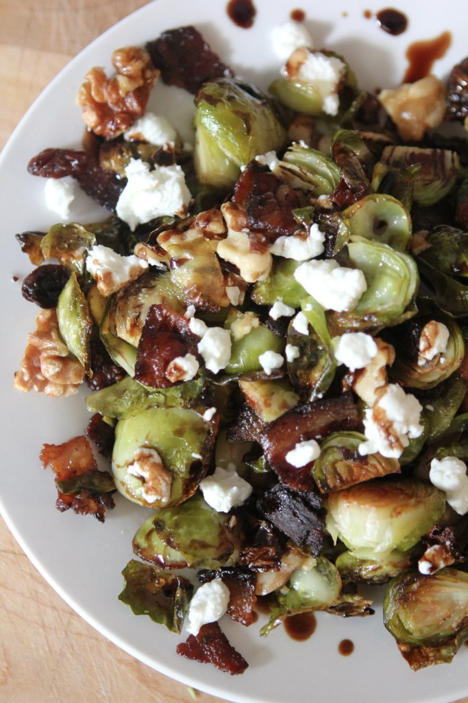Best Ever Brussels Sprouts from the Whole Smiths. Literally the best brussels ever. The secret ingredient really takes 'em up a notch. Gluten-free and paleo friendly. Gotta try these!