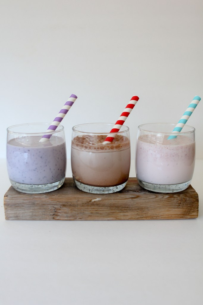 Wholesome flavored milk for the kids.. or YOU from the Whole Smiths. Blueberry, chocolate & strawberry. Paleo friendly, gluten and dairy free.