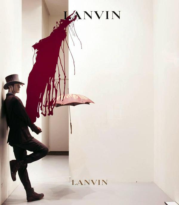 lanvin_presents_splash_window_collection_burgundy_mannequins_menswear2