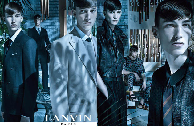lanvin_spring_summer_2013_campaign_menswear_collection_simone_nobili