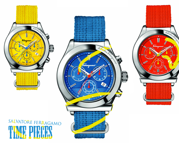 salvatore_ferragamo_timepieces_three_color_watches_red_blue_yellow