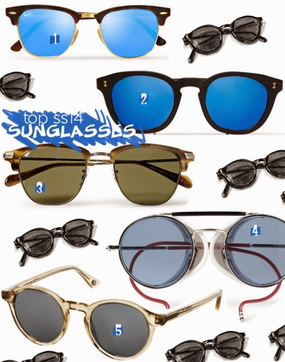 top-spring-summer-2014-sunglasses-rayban-clubmasters-illesteva