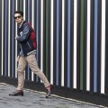 Menswear blogger Ronan Summers is wearing a Tommy Hilfiger Varsity jacket and shows off how to do preppy style!