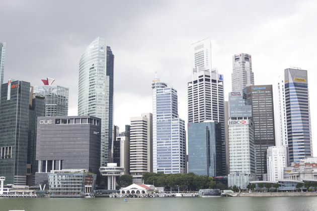Picture of the Singapore skyline
