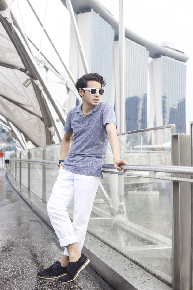 Ronan discovers the modern beauty of Singapore, and showing how great the Orlebar Brown ready to wear collection is!