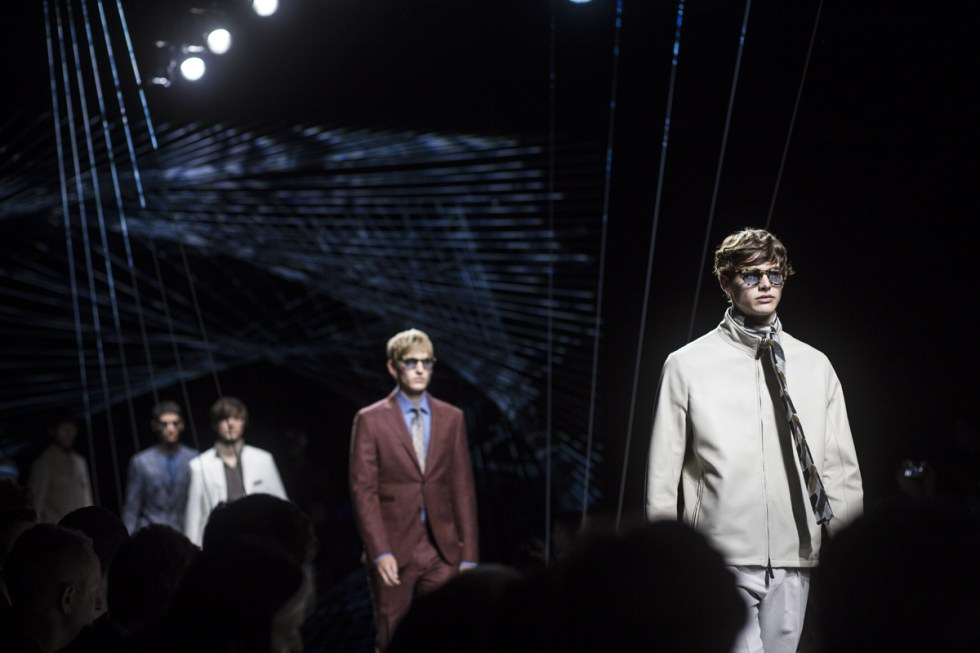 Finale as seen during Canali SS17 collection in Milano for Moda uomo