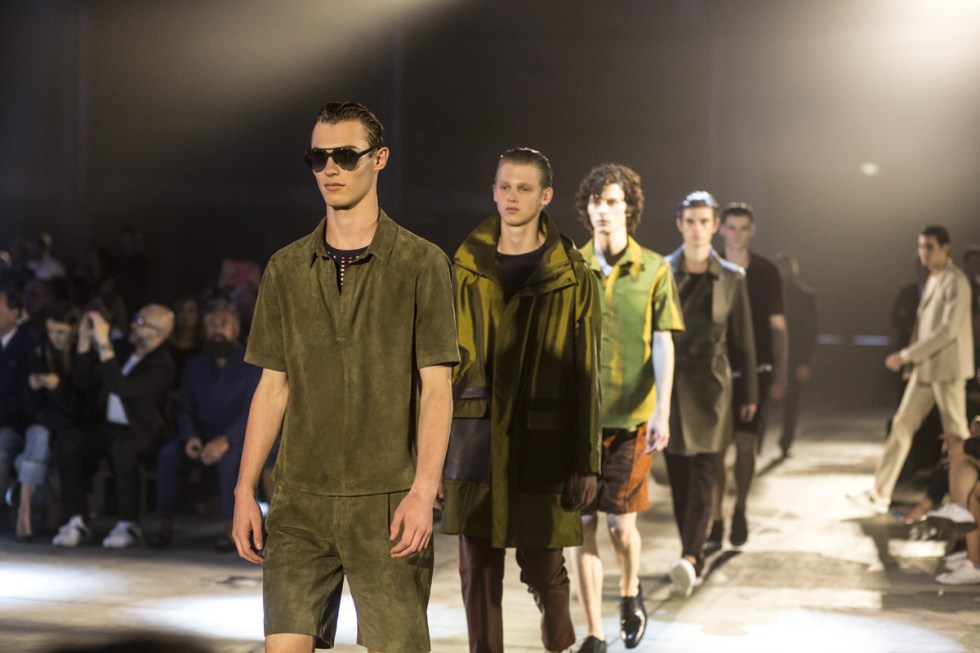 Pal Zileri Finale at the Spring/Summer 2017 show during Milano Moda Uomo, Kit leading the way