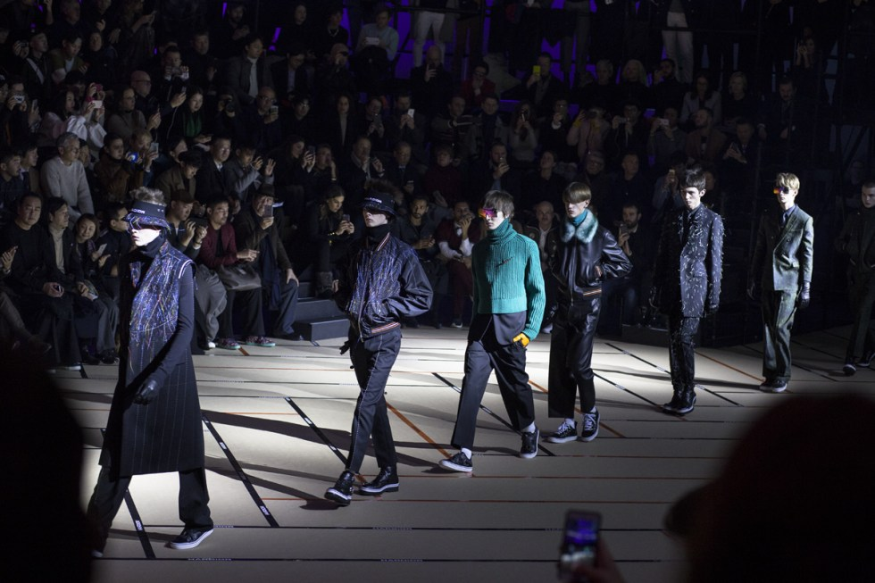 Finale at Dior Homme AW17 in Paris