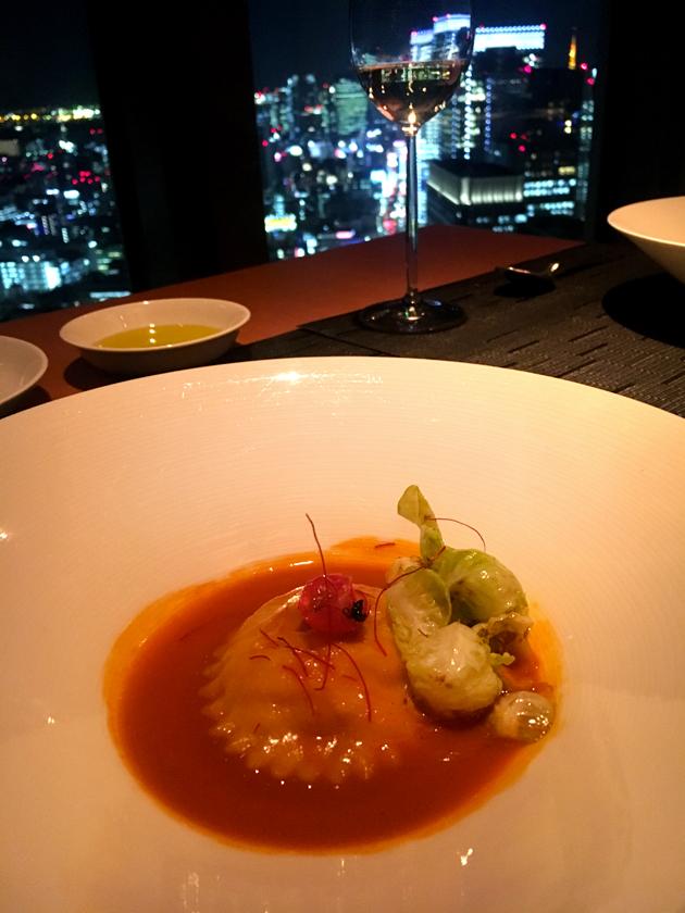 mandarin-oriental-tokyo-food-starter-prawn-tortelloni