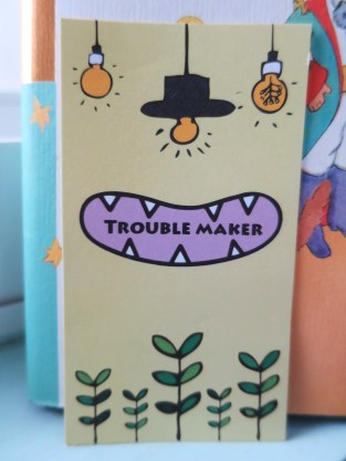 TROUBLE MAKER 名片