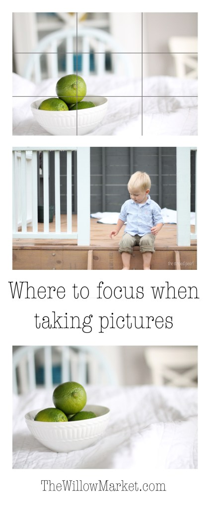 Where to focus when taking pictures. Using your focal point selection. Canon T3, Canon T5.