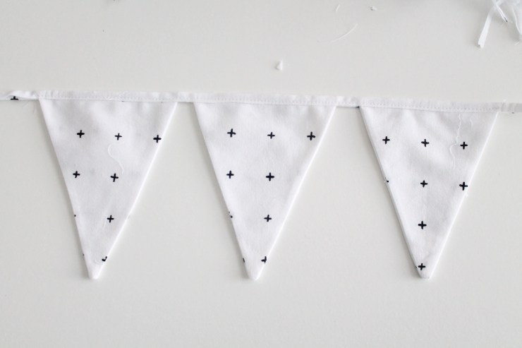 20Triangle Bunting. Triangle Garland. Decoration for a little boy room.