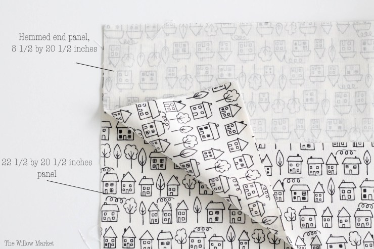 8A DIY Tutorial: How to make a pillowcase.