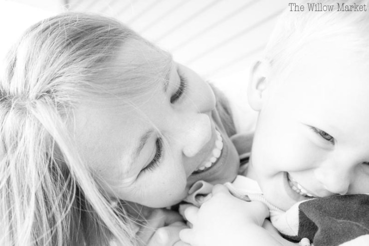 What does homeschooling look like for a three year old and his mother?