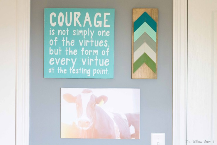 An inexpensive alternative to canvas prints