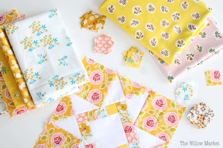 How to combine fabrics. How to pick fabrics for a quilt.