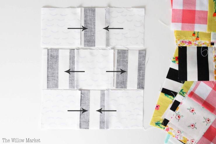 What is nesting seams? How to get perfect corners on quilts.