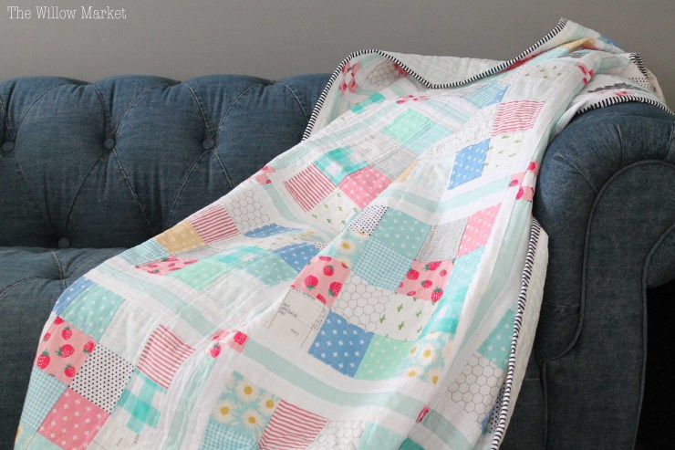 Chamomile Quilt by Allison of Woodberry Way.