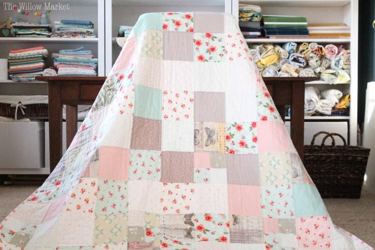 A Sweet Prairie Custom Quilt The Willow Market