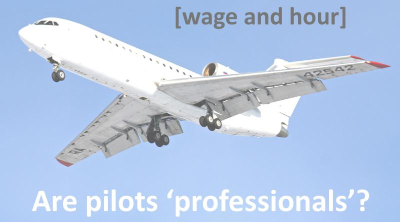 are pilot professionals