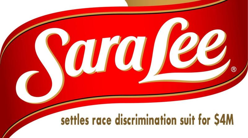 Sara Lee settles race discrimination suit