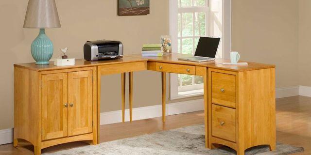 Archbold Alder Return Corner L-shape Desk