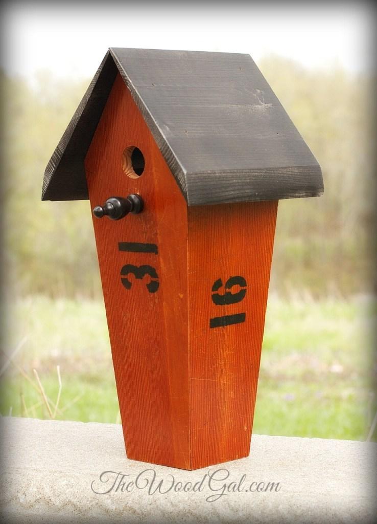 Bleacher Birdhouse