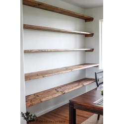 Small Crop Of Floating Shelves Wall