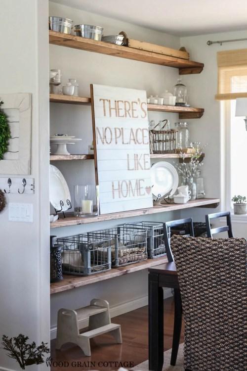 Medium Of Room Shelves Designs
