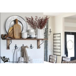 Outstanding Kitchen Shelf Decorating By Wood Grain Cottage Kitchen Shelf Wood Grain Cottage Home Decor Wall Shelving Ideas Home Decor Shelving Ideas