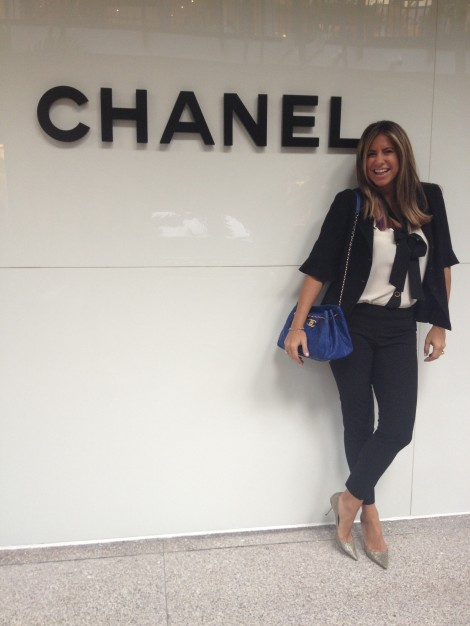 Maria Tettamanti at Chanel Bal Harbour