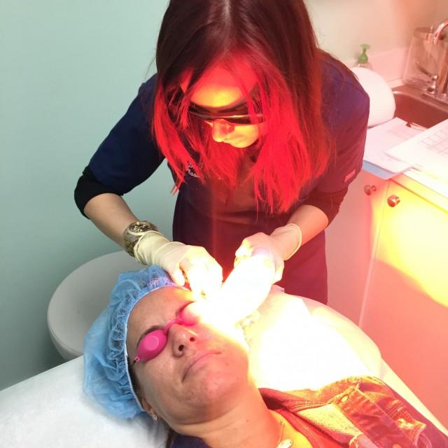 treating sun-damaged skin